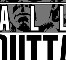 STRAIGHT (ALL) OUTTA BUBBLEGUM Sticker