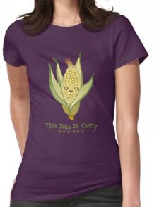 Corny Womens Fitted T-Shirt