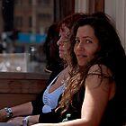 Girl at a Bar by DJohnW