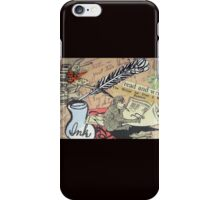 The Studious Rabbit And The Monkey iPhone Case/Skin