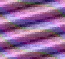 Abstract Squares in Purple, Pink and Blue by Lena127