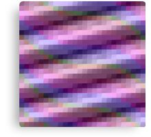 Abstract Squares in Purple, Pink and Blue Canvas Print