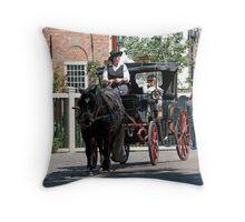 Horse & Buggy 2 Throw Pillow