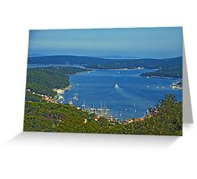 Mali Losinj bay Greeting Card