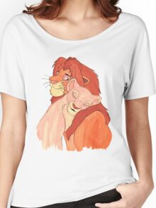 Lion Love Women's Relaxed Fit T-Shirt