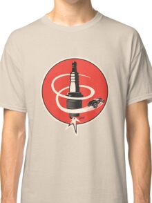 Post WWII Hot Rod Roadster Spark Plug Bomb Group Classic T-Shirt