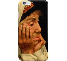 Profile Of The Remaining Time iPhone Case/Skin