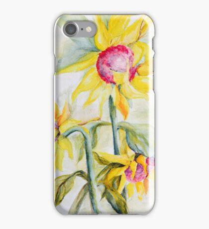 Face Toward the Sunflowers iPhone Case/Skin