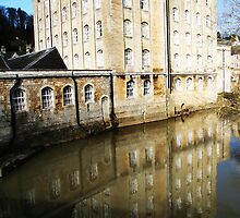 Old Mill by Samuel  Dodd