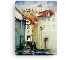 lisbon old city.. Metal Print