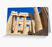 Acropolis of Athens 2, UNESCO World Heritage Site Greeting Card