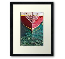 Crystal clear Framed Print
