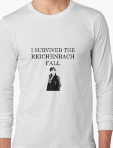 I survived the Reichenbach fall Long Sleeve T-Shirt