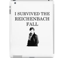 I survived the Reichenbach fall iPad Case/Skin