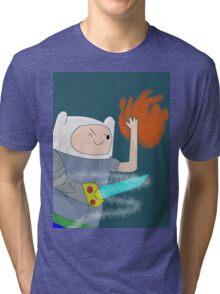 Dungeon Quest Finn! Tri-blend T-Shirt