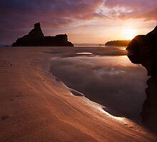 Carnewas Sunset by Adrian Hall