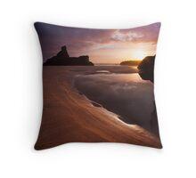 Carnewas Sunset Throw Pillow