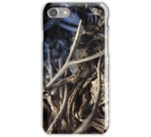 Sticks, Twigs and Flakes iPhone Case/Skin