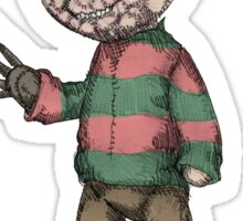 Plushie On Elm Street Sticker