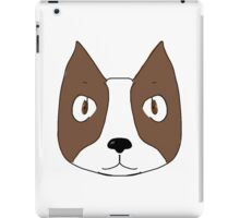 boston dogge iPad Case/Skin