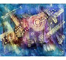 Star Ship Vortex Photographic Print