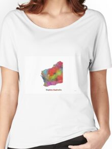Western Australia State Map Women's Relaxed Fit T-Shirt