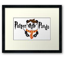 Potter Panda Framed Print