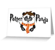Potter Panda Greeting Card