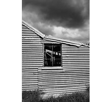 Old Shearing shed Photographic Print