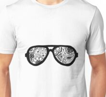 Zentangle Sunglasses Unisex T-Shirt
