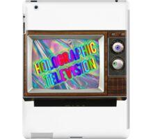 Holographic Television! iPad Case/Skin