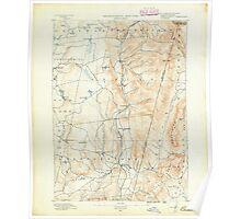 Massachusetts  USGS Historical Topo Map MA Berlin 139229 1890 62500 Poster