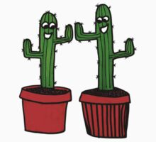 High Five! The Happy Cacti - Best Friends Forever Kids Tee