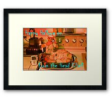 The Head Chef Framed Print