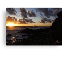 1st Stop In Cape Breton Highlands Canvas Print