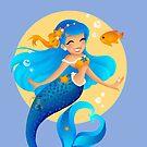 Blue Mermaid  by Redhead-K