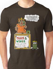 Taxes ... Wings~(C) Unisex T-Shirt