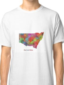 New South Wales State Map Classic T-Shirt