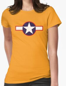 US 1943 Star Emblem Womens Fitted T-Shirt