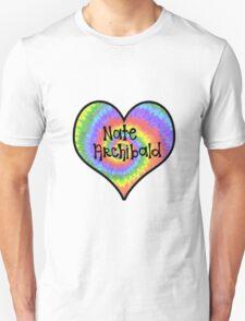 Tiedye Nate Archibald Heart - Gossip Girl T-Shirt
