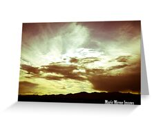 Heavenly Showcase Greeting Card