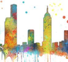 Melbourne, Victoria Skyline  Sticker