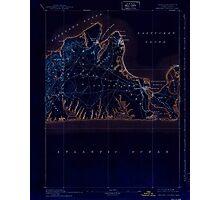 Massachusetts  USGS Historical Topo Map MA Marthas Vineyard 352844 1894 62500 Inverted Photographic Print