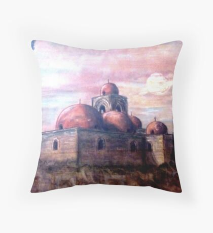 Church of St. John in Palermo Throw Pillow