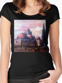 Church of St. John in Palermo Women's Fitted Scoop T-Shirt