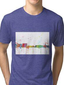 Canberra, ACT Skyline  Tri-blend T-Shirt
