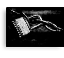 Commercial Master Lock Canvas Print