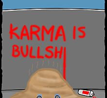 Karma Cartoon by David Stuart