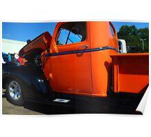 1941 Orange Chevy  Poster