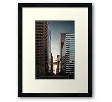 Philadelphia Skyscraper Framed Print
